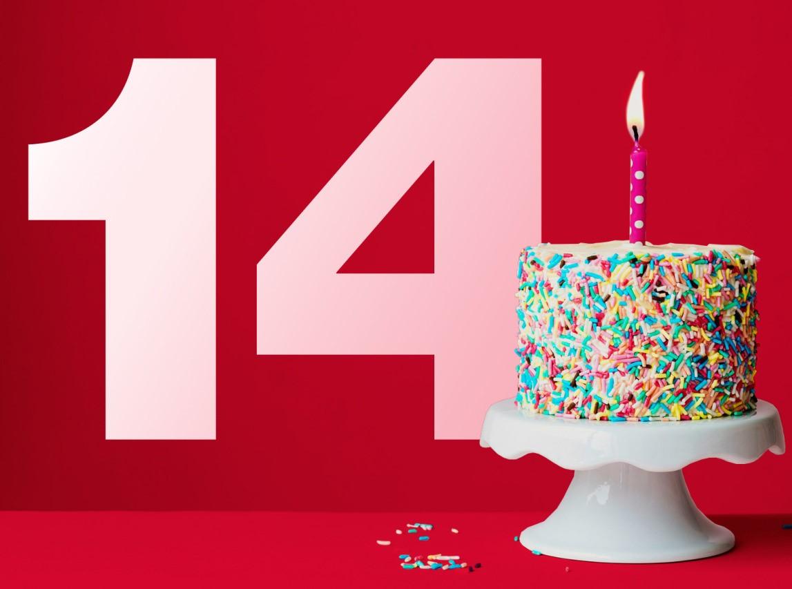 Поздравления с днем рождения подруге 14 лет
