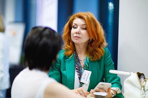 Фото Инны Можайской, преподавателя курса Коуч высших руководителей
