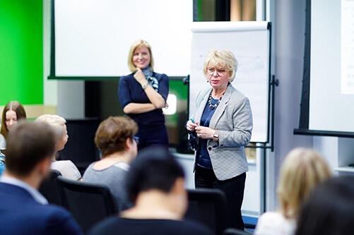 Фото мастер-класса Натальи Цветковой, курс Коуч высших руководителей