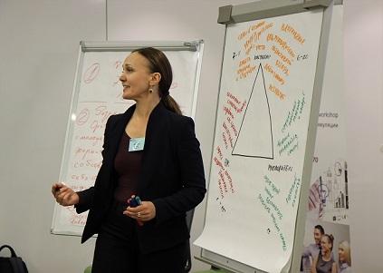 Жанина Эккерт, системный бизнес-консультант